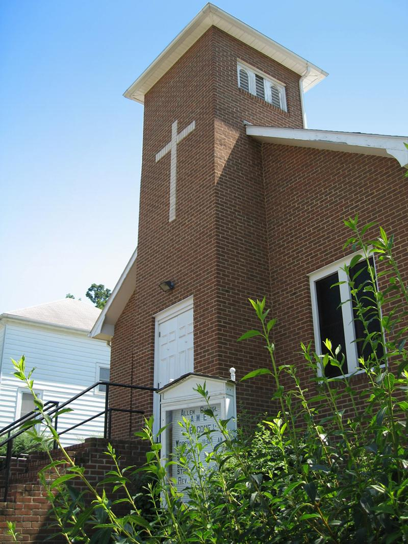 Allen Chapel A.M.E. Church, Staunton, VA